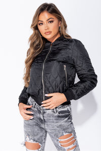 Diamond Bomber Jacke