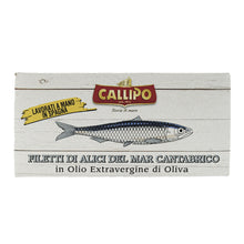 Load image into Gallery viewer, Cantabrian Anchovies Fillet in Extra Virgin Olive Oil 50g