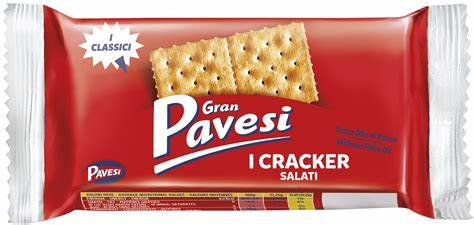 Gran Pavesi Salted Crackers 18 x 31g