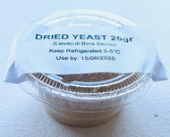 Dried Yeast 25g