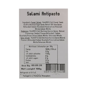 Italian Antipasto Salame Mix 100g Sliced