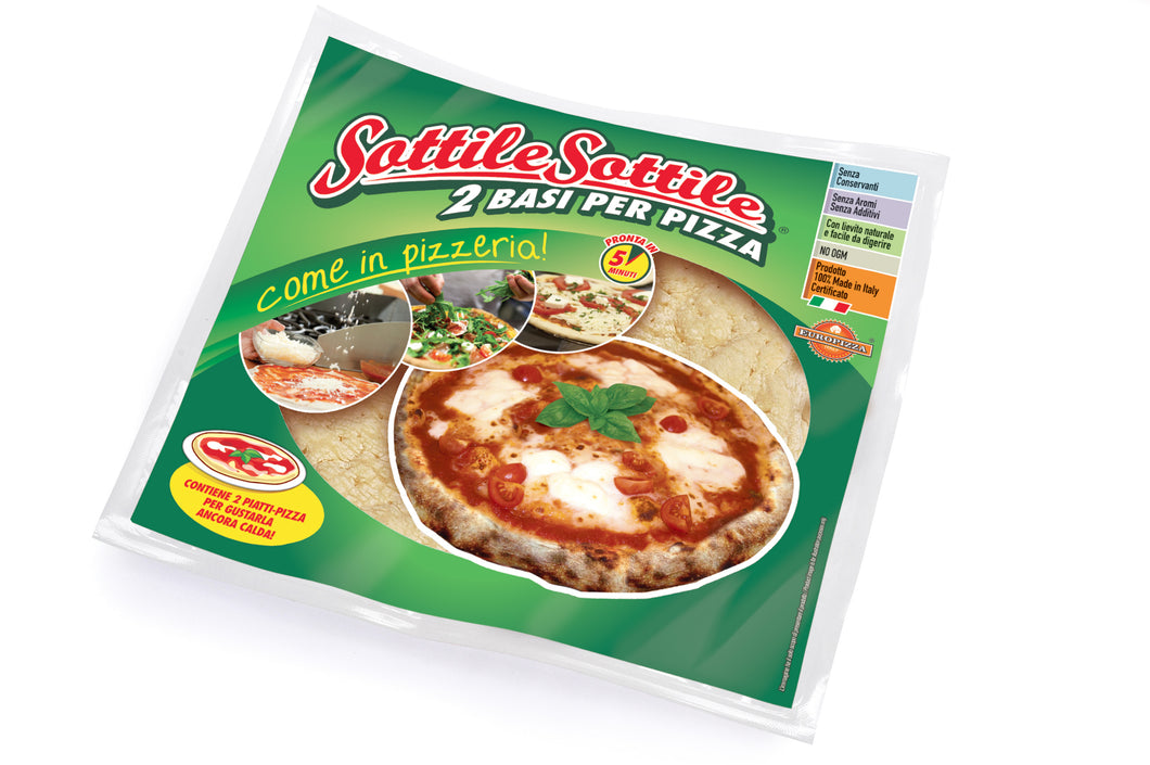 Pizza Base 30cm 220g x2