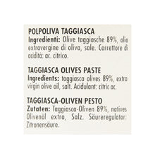 Load image into Gallery viewer, Taggiasca Olives Pate 90g