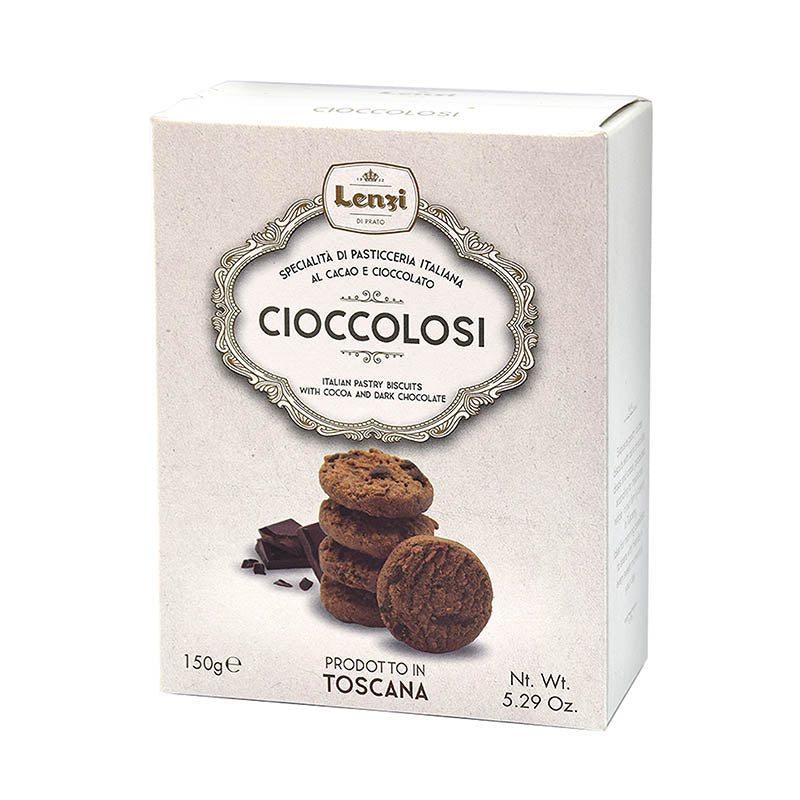 Pastry Biscuits Cocoa and Chocolate drops 150g
