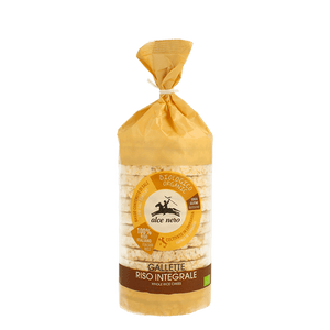 Wholegrain rice crackers 100 g Organic