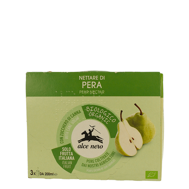 Pear Nectar 200ml x3, Organic