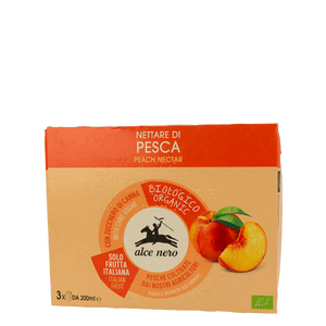 Peach Nectar 200ml x3, Organic