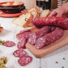 Load image into Gallery viewer, Calabrian Curve Salami red 250g