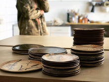 Load image into Gallery viewer, Pile of plates-Feskeriet-MatterMatterStudio-Photo:Pia Aleborg 2020