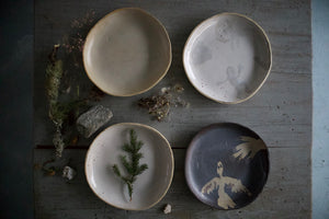 Unique Wide Dinner Plate for every day use, on your table or wall