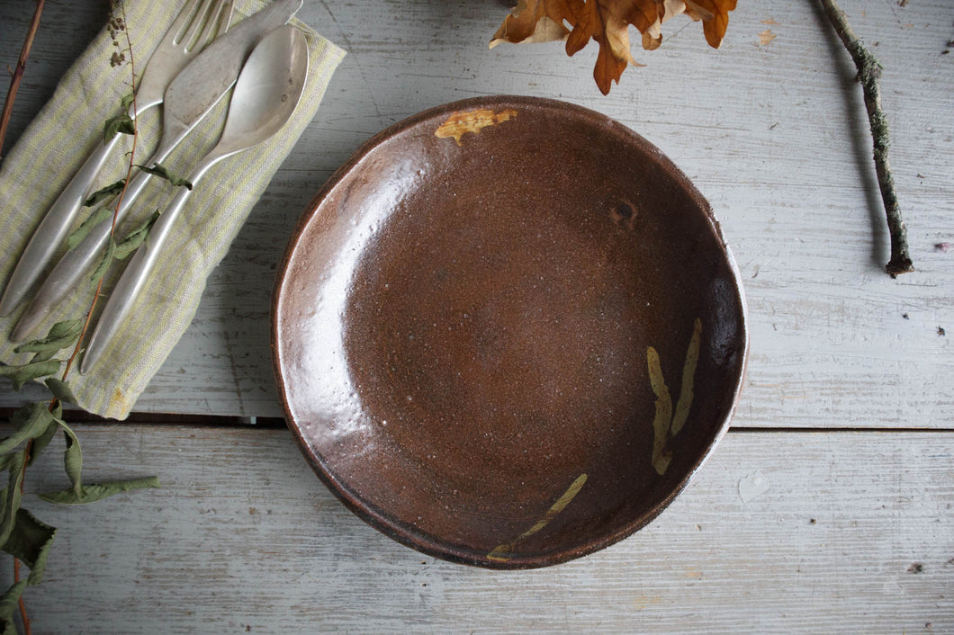 Unique Wide Bowl for pasta, sallad or soup
