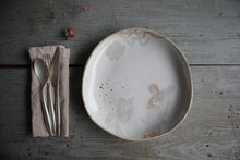 Load image into Gallery viewer, Unique Wide Dinner Plate for every day use, on your table or wall