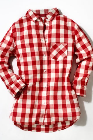 gingham button down whitehousemonogramming