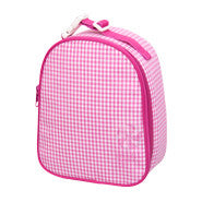 Personalized Gingham Lunchbox - White House Monogramming  - 1