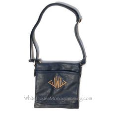 Cross-body Purse - White House Monogramming