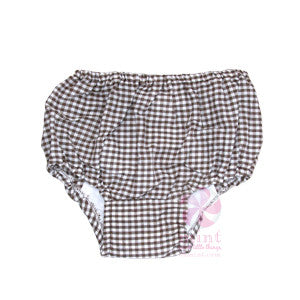 Gingham Check Diaper Covers