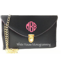 Envelope Clutch Purse-13 Colors - White House Monogramming  - 1