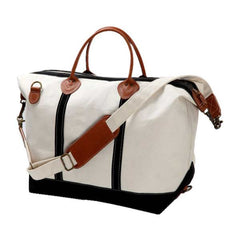 Canvas Weekender Tote Bags - White House Monogramming  - 1
