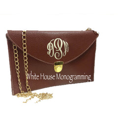Envelope Clutch Purse-13 Colors - White House Monogramming  - 5