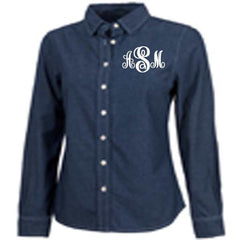 Chambray Shirt - White House Monogramming