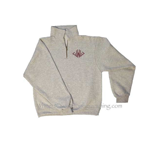 Fleece Quarter Zip Pullover
