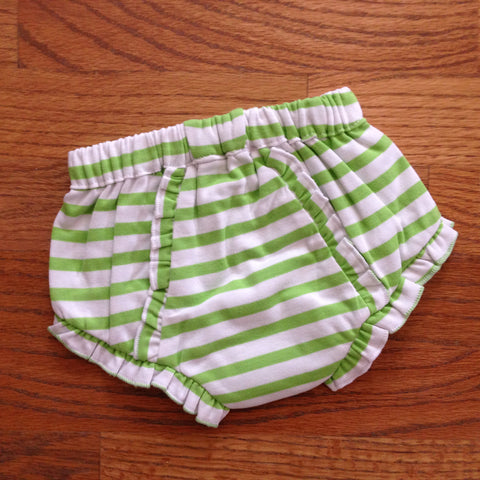 Striped Diaper Cover