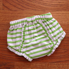 Striped Diaper Cover - White House Monogramming