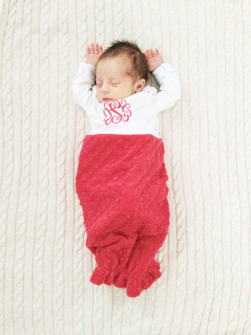Infant Minky Sleep Sack