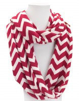 Chevron Infinity Scarves - Super Soft - White House Monogramming