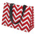 Chevron Tote Monogrammed Team Spirit Eco-totes - White House Monogramming  - 3