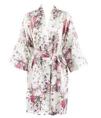 Kimono Bridal Robes | Satin Robes | Robes For Bridesmaids | Silky Robe