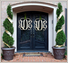 Wooden Monograms - White House Monogramming  - 1