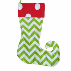 Elf Christmas Stockings - White House Monogramming  - 1