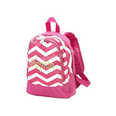 Chevron Toddler Backpack - White House Monogramming