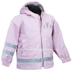 Toddler New-Englander Rain Jacket - White House Monogramming  - 1