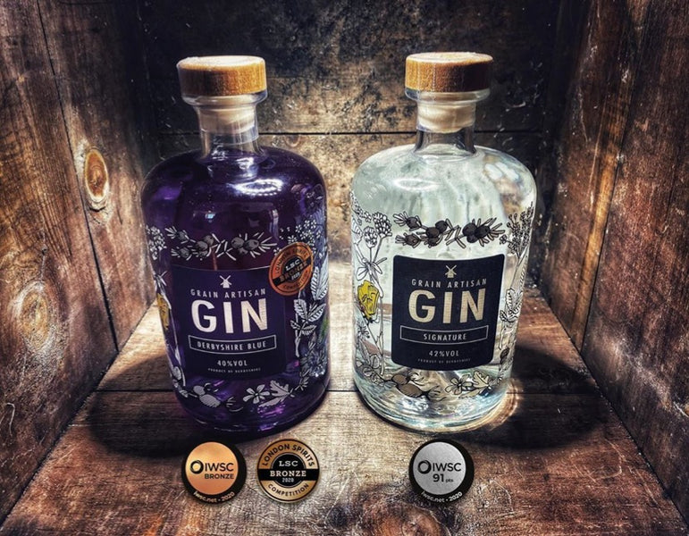 Grain Artisan Distillery, Scoops Award Hat-Trick!