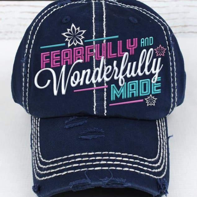 Spring Trucker Hat: Fearfully & Wonderfully Made
