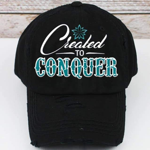 Created to Conquer Trucker Hat