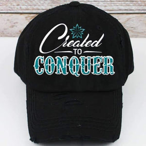 Spring Trucker Hat: Created to Conquer