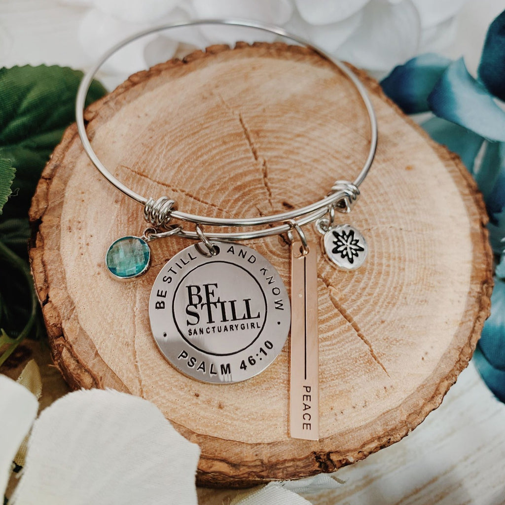 Charmed by Sanctuary Girl Bangle: Peace