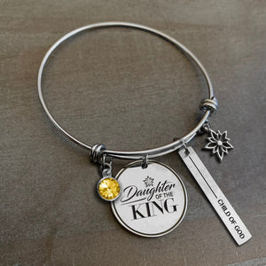 Charmed by Sanctuary Girl: Daughter of the King Bracelet