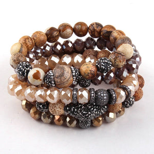 Chestnut Bracelet Stack Set