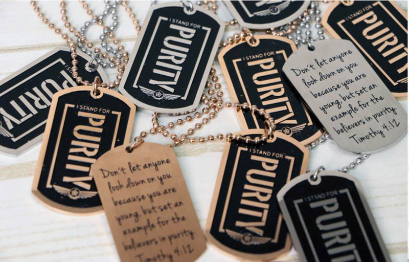Purity Tag Necklace