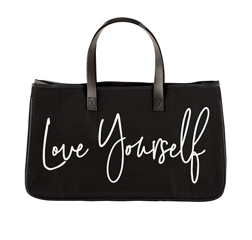 Love Yourself Heavyweight Canvas Tote