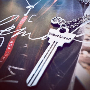 Last Chance: Unbothered Key Necklace