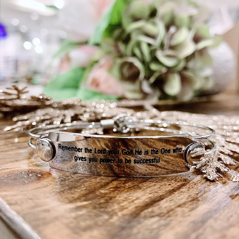 The War Room: Remember the Lord Scripture Bangle