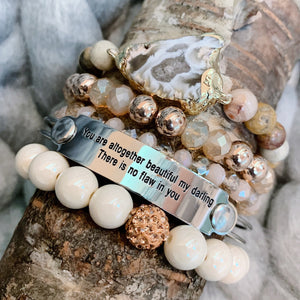 The War Room: You Are Altogether Beautiful Scripture Bangle