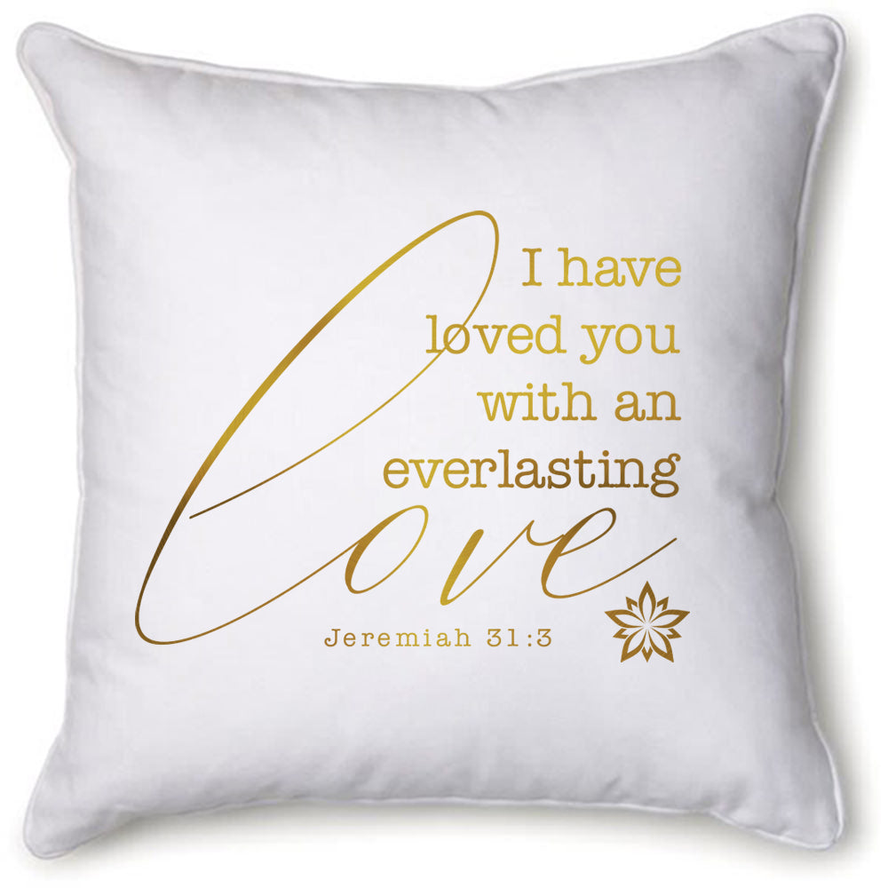 Everlasting Love Velvet Pillow Cover