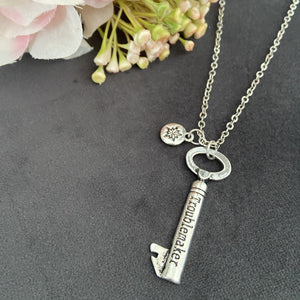 Last Chance: Troublemaker Key Necklace