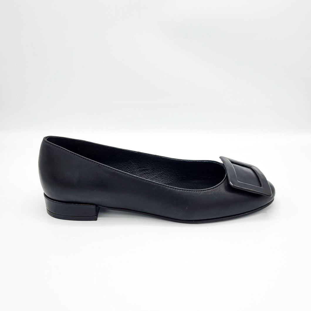 DAISY - BLK LEATHER